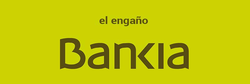 Caso Bankia: recupera tu dinero estafado.