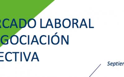 Informe 'Mercado laboral y negociación colectiva' Sept 16