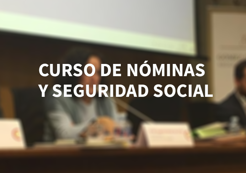 Curso de nóminas y Seguridad Social (SAGE)