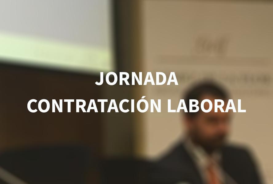 Jornada 'Contratación laboral' en el Colegio de Economistas de Alicante