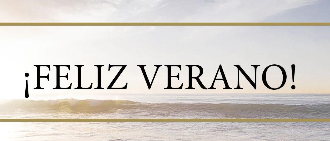 ¡Todo el equipo de Gómez de la Flor os deseamos un feliz verano!