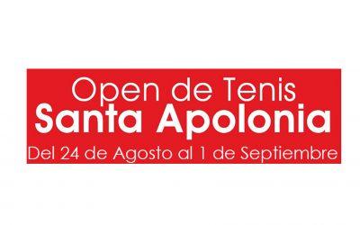 Gómez de la Flor patrocinador del Open de Tenis Santa Apolonia 2018