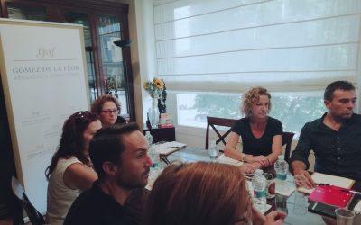 Apertura de agenda de desayunos de trabajo de Gómez de la Flor