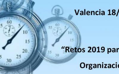 """Desayuno de Trabajo: """"Retos 2019 para las empresas en la Organización del Trabajo"""""""