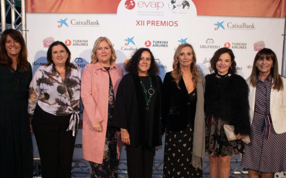 Mª Eugenia Gómez de la Flor asiste a los #PremiosEVAP