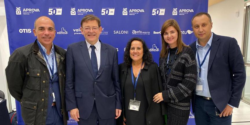 Gómez de la Flor participa y colabora en el 50 aniversario de APROVA