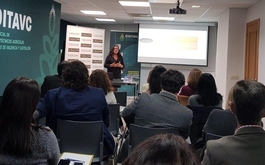 Mª Eugenia Gómez de la Flor participa como ponente en la  jornada sobre » Conciliación de imperativos y necesidades para la organización eficiente del tiempo de trabajo en la empresa» de COITAVC
